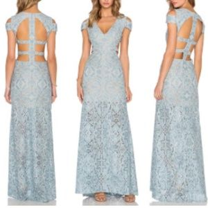 BCBGMAXAZRIA Ice Blue Ava Formal Dress NWT